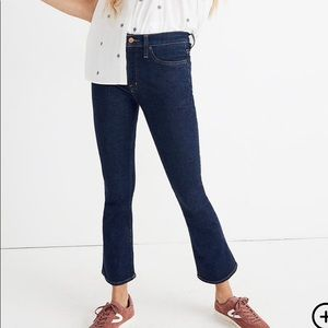 NWT Madewell Cali Demi-Boot Jeans Lucille Wash 28P